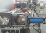 編まれる300kg/H不用なフィルムはプラスチック造粒機の小球形にする機械ラインを袋に入れる
