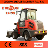2017 mini carregador de Everun Er08, 800kg Kapazitat, Mit Balenklemme