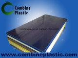 Синий цвет ПВХ пенопластовый лист / Совет Сияющий поверхности