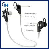 V4.0 Sporten CSR die de Hoofdtelefoons van de Hoofdtelefoons van de Oortelefoon van Bluetooth Earbuds in werking stellen