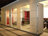 Shutter (SZ-WS618)를 가진 현대 Interior Glass Curtain Wall Office Partition