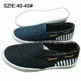 Resbalón de los zapatos de los últimos hombres de la manera en los zapatos de lona ocasionales (MP16723)