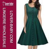 Тип платья 2016 деятельности офиса одежды женщины (L36106)