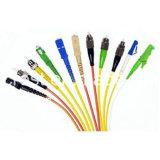 LC к заплат волокна OS2 Sc однорежимным кабелям 9/125 двухшпиндельным
