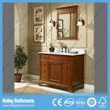 Mobília Multilayer clássica popular do banheiro da madeira contínua (BV212W)