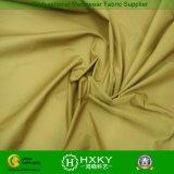 Tela exterior do vestuário do desgaste do inverno amarelo do poliéster da cor
