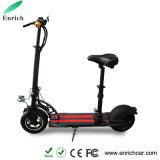 シートおよびBluetoothのスピーカーが付いている2wheel小型Foldable電気スクーター