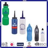 Спорты логоса цены LFGB дешевые подгонянные OEM и выдвиженческая пластичная бутылка