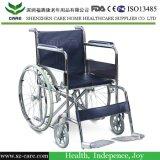 CARE- Стальная Инвалидная Коляска с Поднимающимися Подножками