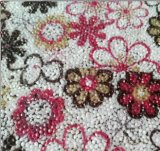 Motivos Charming da resina da folha da cola Epoxy da flor para o vestuário Accorssies