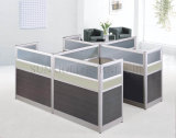 Klassisches Partition-Büro-hölzerner Schreibtisch-Arbeitsplatz der Qualitäts-4-People (SZ-WS311)