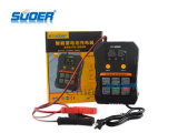 Suoer 지적인 고침 최빈값 12V/24V 2A/4A/6.9A 자동적인 자동차 배터리 충전기