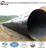 China galvanizó la pipa acanalada montada del metal