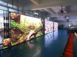 Pantalla publicitaria de interior a todo color de la visualización de LED P6 LED