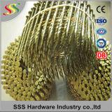 Exportación común de los clavos de la bobina de la muestra libre de la alta calidad caliente