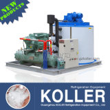 PLC Central Program Control 8tpd Flake Ice Machine Fabriqué en Chine Koller Company