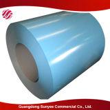 bobina de acero galvanizada sumergida caliente PPGI de metal de 0.4m m del precio grueso de la hoja