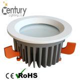 Recorte estándar 40W Dimmable LED Downlight del techo 170m m de Australia LED con la MAZORCA LED del CREE