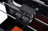A extrusora dobro de Ecubmaker, suporta 4 materiais, auto impressora do nível 3D