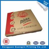 Het bruine GolfVakje van het Document van Kraftpapier voor de Verpakking van de Pizza