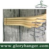 Gancho natural para o hotel, gancho de madeira do carvalho, com barra das cuecas