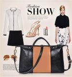 Couro genuíno da vaca das bolsas das mulheres dos sacos de couro camada ocidental nova do estilo do desenhador de moda da alta qualidade da chegada da primeira