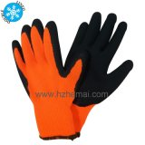 10g Latex Coated Gloves Safety Latex Gloves Hand Work Glve
