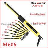 Hierro que se encrespa de belleza M606 del pelo profesional del producto