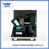 Impresora automática de la estampilla de fecha del chorro de tinta continuo Handheld de Cij