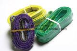 Cinghia piana dell'imbracatura di 7:1 /Webbing di fattore di sicurezza dell'imbracatura della tessitura del poliestere duplex