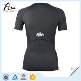短い袖の平野のスポーツ・ウェアに着せる卸売の実行