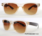 Plastic Zonnebril van het Frame van vrouwen de Hete Verkopende