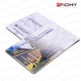 Carnet de socio de la impresión Lf/Hf/UHF RFID de la insignia y del número