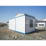 Casa prefabricada del envase del diseño moderno del bajo costo para la venta