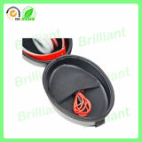 Unità di elaborazione Leather Headphone Caso di abitudine con Embossed Logo (AHC-001)
