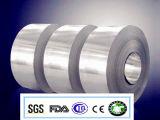folha adesiva de alumínio densamente deProcessamento de 8011-O 0.08mm Taple