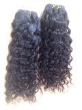 Peruanisches Jungfrau-Haar-tiefe Wellen-Menschenhaar-Webart
