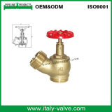Válvula de hidrante de aterragem de fogo de bronze (AV4060)