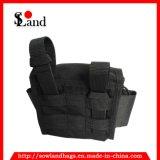 Bolso militar negro de la bolsa de herramientas