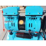 compresor de aire del tornillo del pistón del cilindro doble de 550W 9L mini