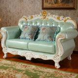 Sofa en cuir de salle de séjour avec des Modules pour les meubles à la maison