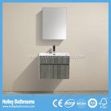 Горячей шкаф ванной комнаты меламина сбывания установленный стеной с тщетой зеркала