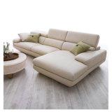 Modernes ledernes Sofa hergestellt vom echten Leder für Wohnzimmer