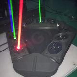 새로운 9 헤드 DMX DJ 디스코 단계 거미 RGB 레이저 광