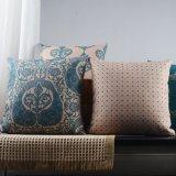 Coxins impressos da cadeira do pátio do quadrado da polegada 18X18 para o sofá