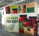 Stand portatif d'exposition de tissu de tension, présentoir, Foire (KM-BSH6)