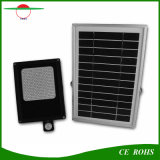 太陽庭ライト120LED PIR動きセンサーの洪水ライト太陽電池パネル6V 6Wは6000mAh電池が付いているフラッドライトを防水する