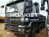 새로운 상표 6X4 50t 수용량 380HP 덤프 트럭 팁 주는 사람 트럭