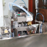 自動ひだが付き、錫メッキする機械