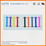 Populaire aucuns lacets de silicones de polyester de relation étroite